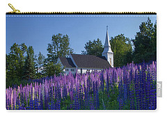 Lupines At St. Matthews In Sugar Hill Carry-all Pouch