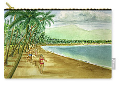 Luquillo Beach And El Yunque Puerto Rico Carry-all Pouch by Frank Hunter