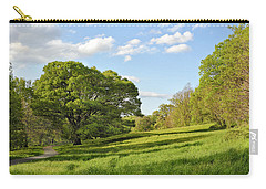 Lush Green Spring Landscape Carry-all Pouch