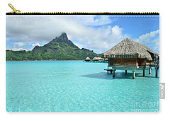 Luxury Overwater Vacation Resort On Bora Bora Island Carry-all Pouch
