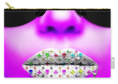 Kiss Me Purple Carry-all Pouch
