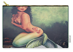 Lydia The Tattooed Mermaid Carry-all Pouch