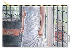 Lydia's Wedding Portrait Carry-all Pouch