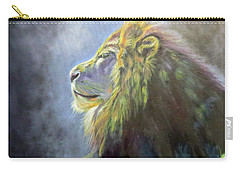 Lying In The Moonlight, Lion Carry-all Pouch
