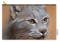 Lynx Portrait Carry-all Pouch