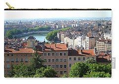 Lyon From Above Carry-all Pouch by Dany Lison