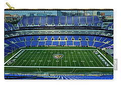 M And T Bank Stadium Carry-all Pouch by Robert Geary