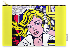 M-maybe Carry-all Pouch by Roy Lichtenstein