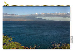 Maalea Bay Overlook   Carry-all Pouch by Lars Lentz