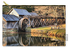 Mabry Grist Mill Fall Panorama Carry-all Pouch