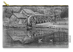 Mabry Mill Pencil Drawing Carry-all Pouch