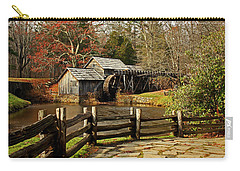 Carry-all Pouch featuring the photograph Mabry Mill by Suzanne Stout