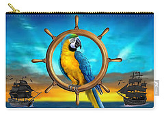 Macaw Pirate Parrot Carry-all Pouch