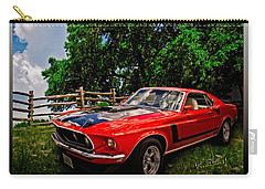 1969 Ford Mach 1 Mustang Carry-all Pouch