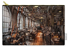 Machinist - A Fully Functioning Machine Shop  Carry-all Pouch