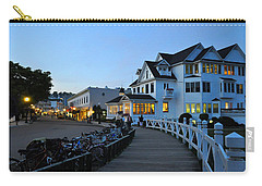 Mackinac Island At Dusk Carry-all Pouch