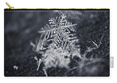 Macro Snowflake Carry-all Pouch