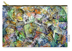 Carry-all Pouch featuring the painting Flotsam 2 by Jim Whalen