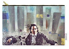 Mad Men Disintegration Of Don Draper Carry-all Pouch