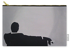 Mad Men In Silhouette Carry-all Pouch