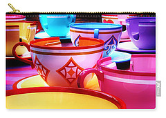 Carry-all Pouch featuring the photograph Mad Tea Party by Benjamin Yeager