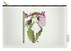 Mademoiselle Cover Featuring A Woman Carrying Carry-all Pouch