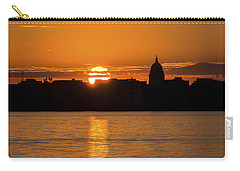 Madison Sunset Carry-all Pouch by Steven Ralser