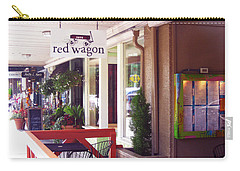 Madison Valley Street Scene 1 Carry-all Pouch by David Trotter