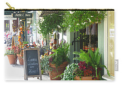 Madison Valley Street Scene 2 Carry-all Pouch by David Trotter