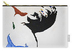 Madonna True Blue Carry-all Pouch by Stormm Bradshaw