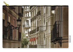 Madrid Streets Carry-all Pouch by Joan Carroll