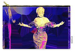 Mae West. Ladies Embrace Your Curves Carry-all Pouch