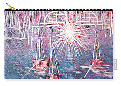 Belmont Turn Magenta Chicago Carry-all Pouch by George Riney