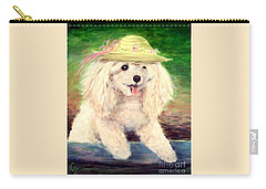 Maggie   Straw Hat Carry-all Pouch