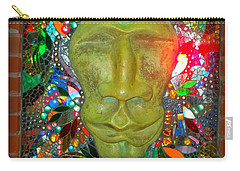Carry-all Pouch featuring the photograph Magic Mirror In Lomoish by Kelly Awad