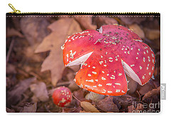 Magic Mushroom Carry-all Pouch by Ray Warren