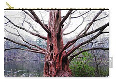 Carry-all Pouch featuring the photograph Magic Tree by Nina Silver