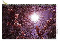 Carry-all Pouch featuring the photograph Magical Blossoms by Vicki Spindler