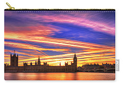 Magical London Carry-all Pouch by Midori Chan