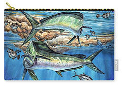 Magical Mahi Mahi Sargassum Carry-all Pouch