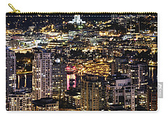 Carry-all Pouch featuring the photograph Magical Yaletown Harbor Mdxlix by Amyn Nasser