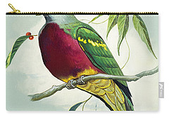 Magnificent Fruit Pigeon Carry-all Pouch by Bert Illoss