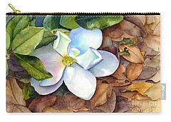 Magnolia Carry-all Pouch by Bonnie Rinier