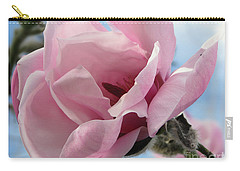 Magnolia In Spring Carry-all Pouch by Jola Martysz