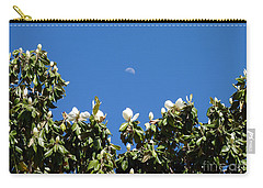 Carry-all Pouch featuring the photograph Magnolia Moon by Meghan at FireBonnet Art