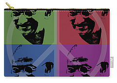 Mahatma Gandhi  Carry-all Pouch by Jean luc Comperat
