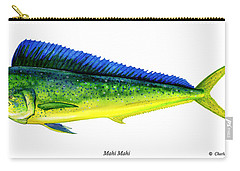 Mahi Mahi Carry-all Pouch by Charles Harden