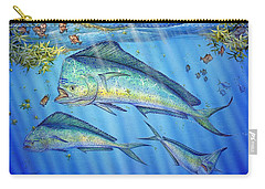 Mahi Mahi In Sargassum Carry-all Pouch