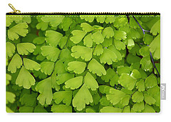 Maidenhair Fern Carry-all Pouch
