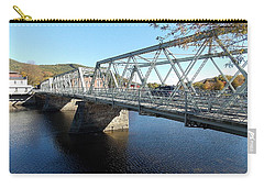 Main Street Bridge Shelbourne Falls  Carry-all Pouch